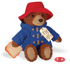 "Yottoy Large 12"" Big Screen Paddington Bear Red Hat Stuffed Animal Plush... - $36.00"