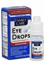 Eye Drops For Relieves Red, Irritated eyes 0.5fl oz, 15 ml sealed new  exp 10/22 image 3