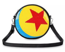 ✨ NWT Exclusive Disney Parks PIXAR Sequin Luxo Ball Crossbody Purse Loun... - $59.39