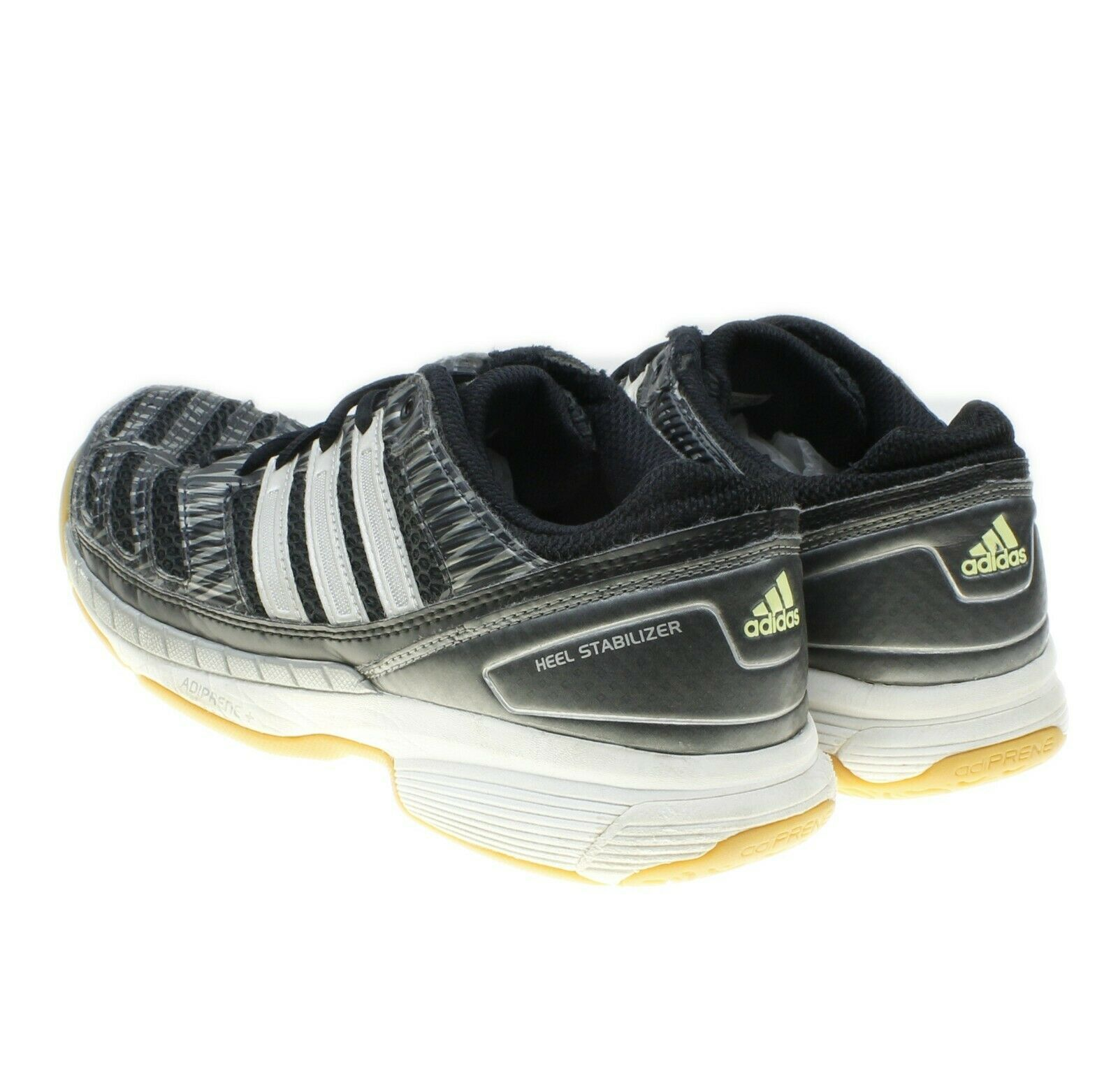 Adidas Adiprene Traxion Womens Gray Running Shoes Sneakers Size 8