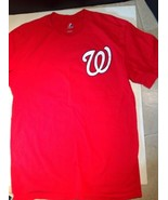 Majestic Brand Washington Nationals Bryce Harper #34 MLB Red Large Tee T... - $10.89