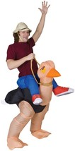 Ollie Ostrich Costume Adult Inflatable Mascot Animal Halloween Funny SS2... - $59.99