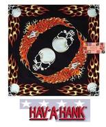 SKULLS EAGLE FLAMES Fire Biker Bandana Cotton BANDANNA SCARF Scarve Head... - $6.00