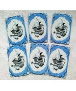 Dressed Rabbits Single Swap Playing Cards Pack of 6  Paper Art Crafts Su... - $8.99