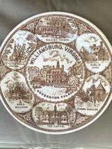 Governor's Palace At Williamsburg, Va. Southern Landmark Series Gorham China Pla - $10.00