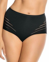 Leonisa BLACK Invisible Tummy Control Classic Comfy Panty, US Large - $14.85