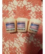 Yankee Candle - PINK SANDS SCENT VOTIVES - Pack of 3 EACH 1.75oz - 49gram - $6.92