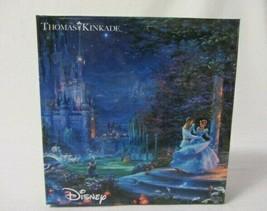 Thomas Kinkade Disney Cinderella Dancing 750 Piece Jigsaw Puzzle & Poster Mib - $19.99
