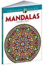 Creative Haven Mandalas Collection Coloring Book (Creative Haven Colorin... - $6.93