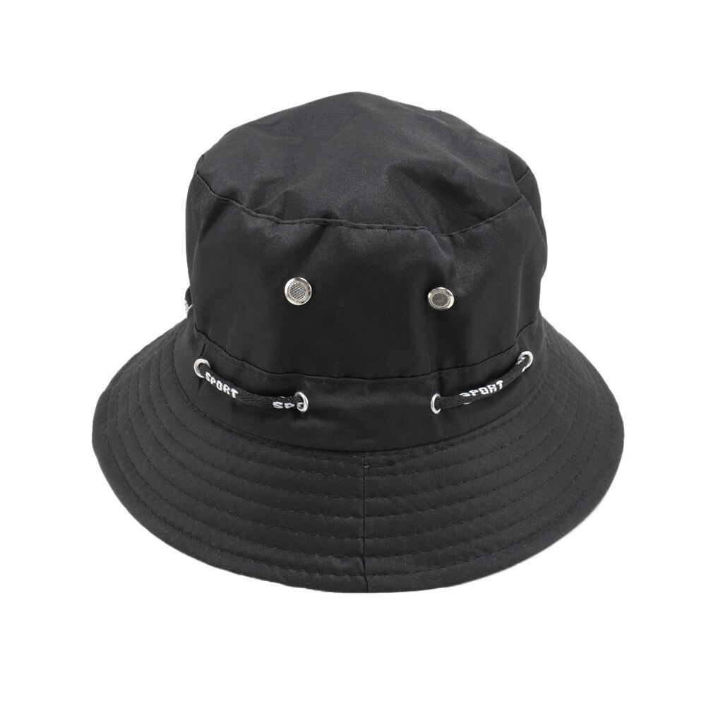 Primary image for 1 Pcs Casual Unisex Bucket Cotton Hat Foldable Wide Brim Outdoor Fishing Camping