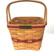 Longaberger Christmas Collection 1995 Edition Cranberry Basket Vintage - $31.67