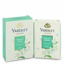 FGX-550756 Yardley London Soaps Imperial Jasmin Luxury Soap 3.5 Oz For Women  - $13.99