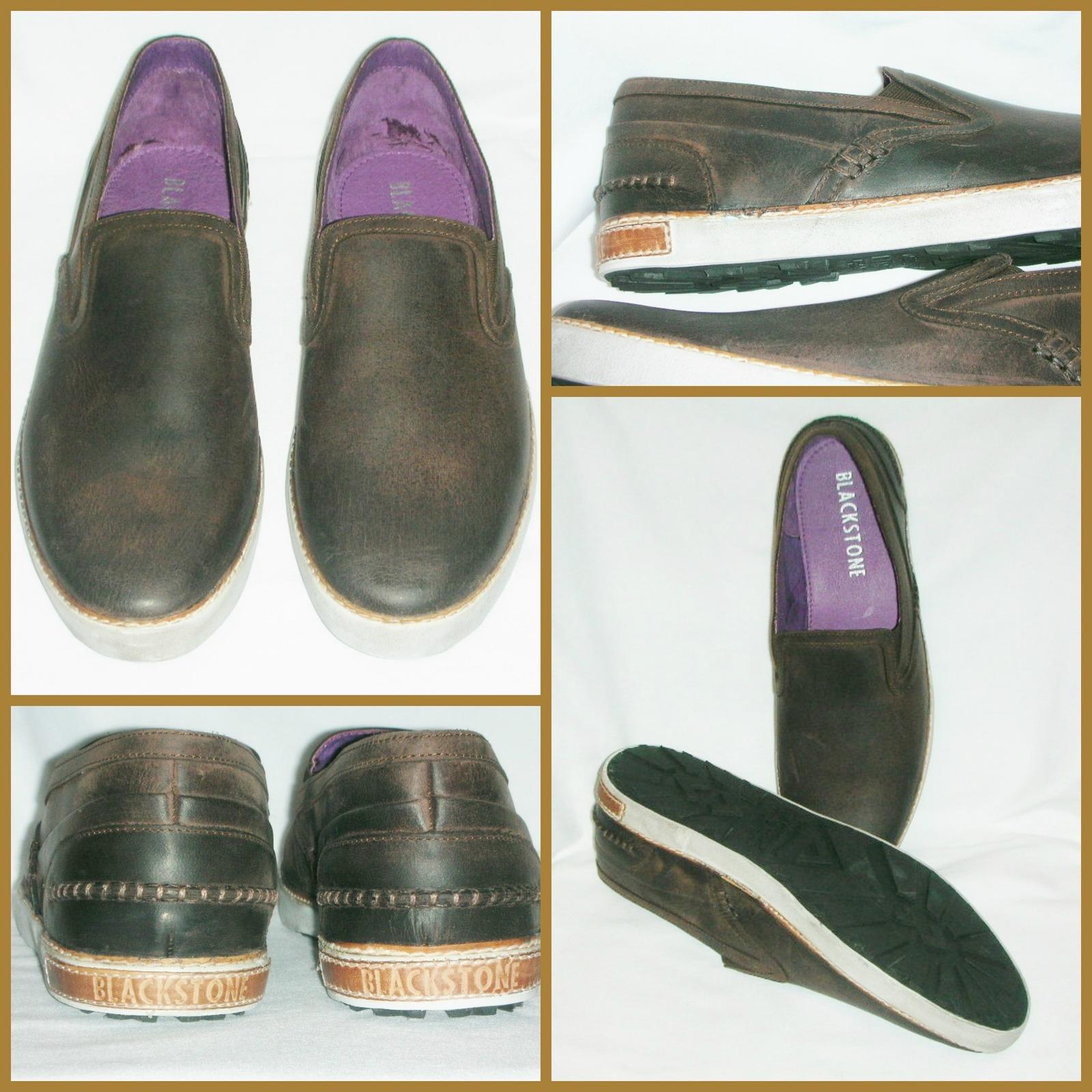 Men s Shoes Blackstone Dark Brown Distressed and 50 similar items d4310439f