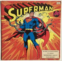 Superman LP Vinyl Record Album, Power Records - 8156 , Children's, Story, - $25.95