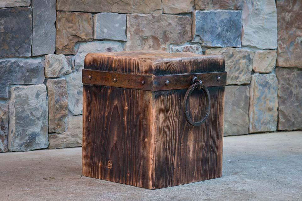 Remarkable Cedar Creek Sculptures Rustic Throne Cube And 50 Similar Items Machost Co Dining Chair Design Ideas Machostcouk