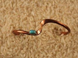 Copper Wave Bracelet - $15.00