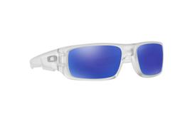 Oakley Kurbelwelle Sonnenbrille OO9239 09 Matt Durchsichtig Violett Iridium - $98.98