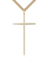 CROSS - 12kt Gold Filled Medal Pendant - 0029Y - $186.99
