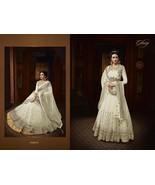 Embroidered Anarkali Salwar Kameez Ethnic Party Shalwar Suit Women Brida... - $86.99