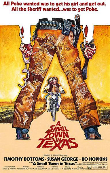 Primary image for A Small Town In Texas - 1976 - Movie Poster