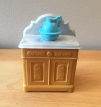 70s Avon Washstand and Pitcher foaming bath oil bottle (Charisma) image 1