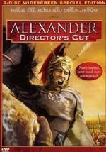 Alexander Directors Cut 2 DVD Set Widescreen Collin Farrell Angelina Jol... - $12.00
