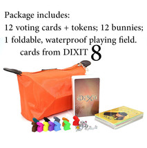 Dixit Board Game TRAVEL VERSION! Playfield+Tokens+Vote+Revelations - 8 E... - $25.33