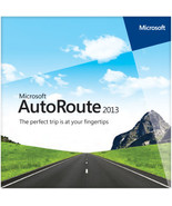 Microsoft AutoRoute Euro 2013 - Full Version - No Product Key Needed - $29.99