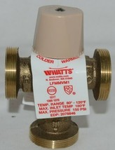 Watts Thermostatic Mixing Valve Threaded 0559122 For Domestic Hot Water Systems image 2