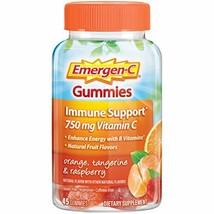 Emergen-C Gummies Vitamin C 750mg Immune Support 45 Count, Orange, Tangerine And