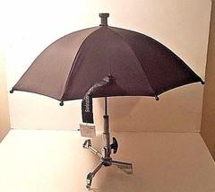SWINGIN IN THE RAIN BLACK CADDY COVER CLUB BAG UMBRELLA MEDAL POST- T.A.... - $558,92 MXN