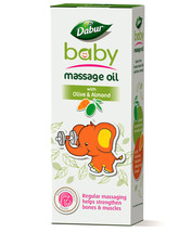 Dabur Baby Massage Oil With Olive & Almond 100ML Free Shipping - $8.99+