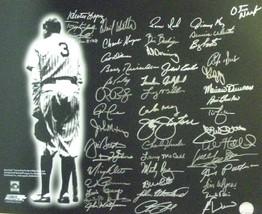 New York Yankees signed 16x20 Photo Babe Ruth w/ 48 sigs- BAS Holo- Tony Kubek/B - $298.95