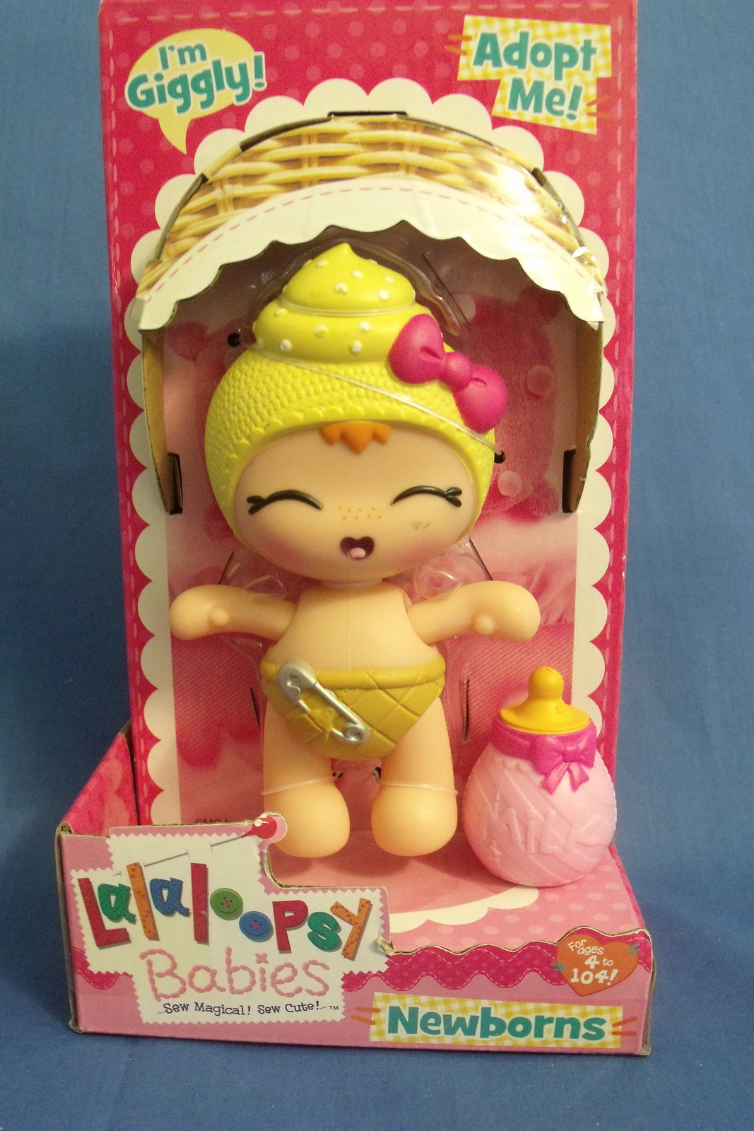 Toys Dolls New Lalaloopsy Babies Newborns Doll I'm Giggly 5 inches