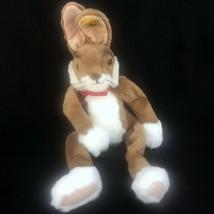 Steiff Plush Lulac Dangling Brown Rabbit 122614 Germany 2000-01 Stuffed ... - $95.99