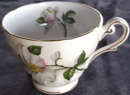 Antique Royal Standard Footed Teacup Fine Bone China Camellia Pattern - ... - $24.74