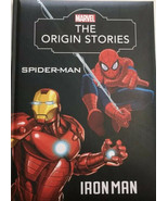 Ironman Spiderman Marvel Book The Origin Stories New - $18.75