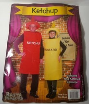 Ketchup Catsup Bottle Halloween Costume One Size 2pc Tunic and Hat - £15.53 GBP