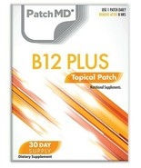 New Formula! PatchMD B12 Energy Plus Patch 30-patches Patch-MD BB - $14.99