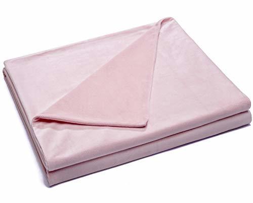 Kpblis Velvet Duvet Cover For Weighted Blanket 60x80