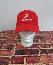 HONDA JET Red Cap Hat One Size Fly Aircraft Private Japan - $24.49
