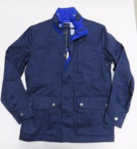 NEW Blue Tommy Hilfiger Outerwear Full Zip Up Jacket Adult Men's Size Me... - $138.55