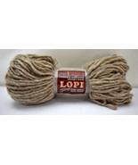 Reynolds Lopi 100% Icelandic Mountain Sheep's Wool Yarn - 1 Skein Oatmea... - $11.35