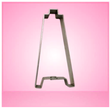 Oil Derrick Cookie Cutter 5 inch (goes well with pump jack) aluminum - $6.44