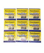 9 Packets Fleischmann's Fast Acting Instant Yeast 0.25 1/4 oz Each - $19.75