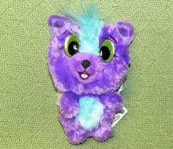 Hatchimals Skunkle Purple Plush Hatchibuddies Stuffed Sparkle Eyes Silver Wings - $8.17