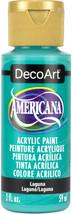 Americana Acrylic Paint 2oz-Laguna - $6.33