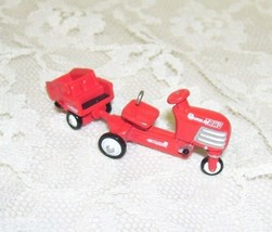 1999 Hallmark Kiddie Car Murray Tractor and Cart Miniature - $18.69