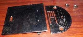Kenmore 158.331 Zig Zag Throat Plate #4222 & Slide Bobbin Cover #8210 - $22.50
