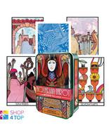 AQUARIAN TAROT TIN BOX DECK CARDS D. PALLADINI ESOTERIC US GAMES SYSTEMS... - $24.54